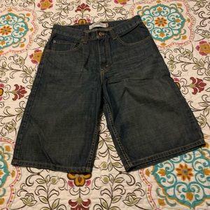Levi's loose straight men's jean shorts. Waist 31